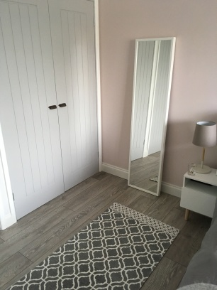 White Ikea Stave mirror