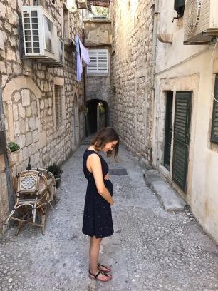 17 weeks pregnant in Dubrovnik